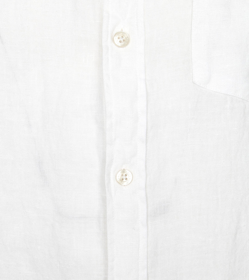 Ecoalf Malibi Overhemd Wit - Wit maat XXL