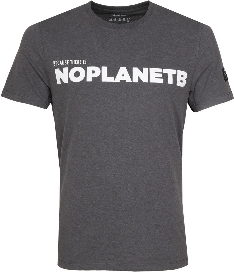 Ecoalf Natal T-Shirt No Planet Grey photo 0