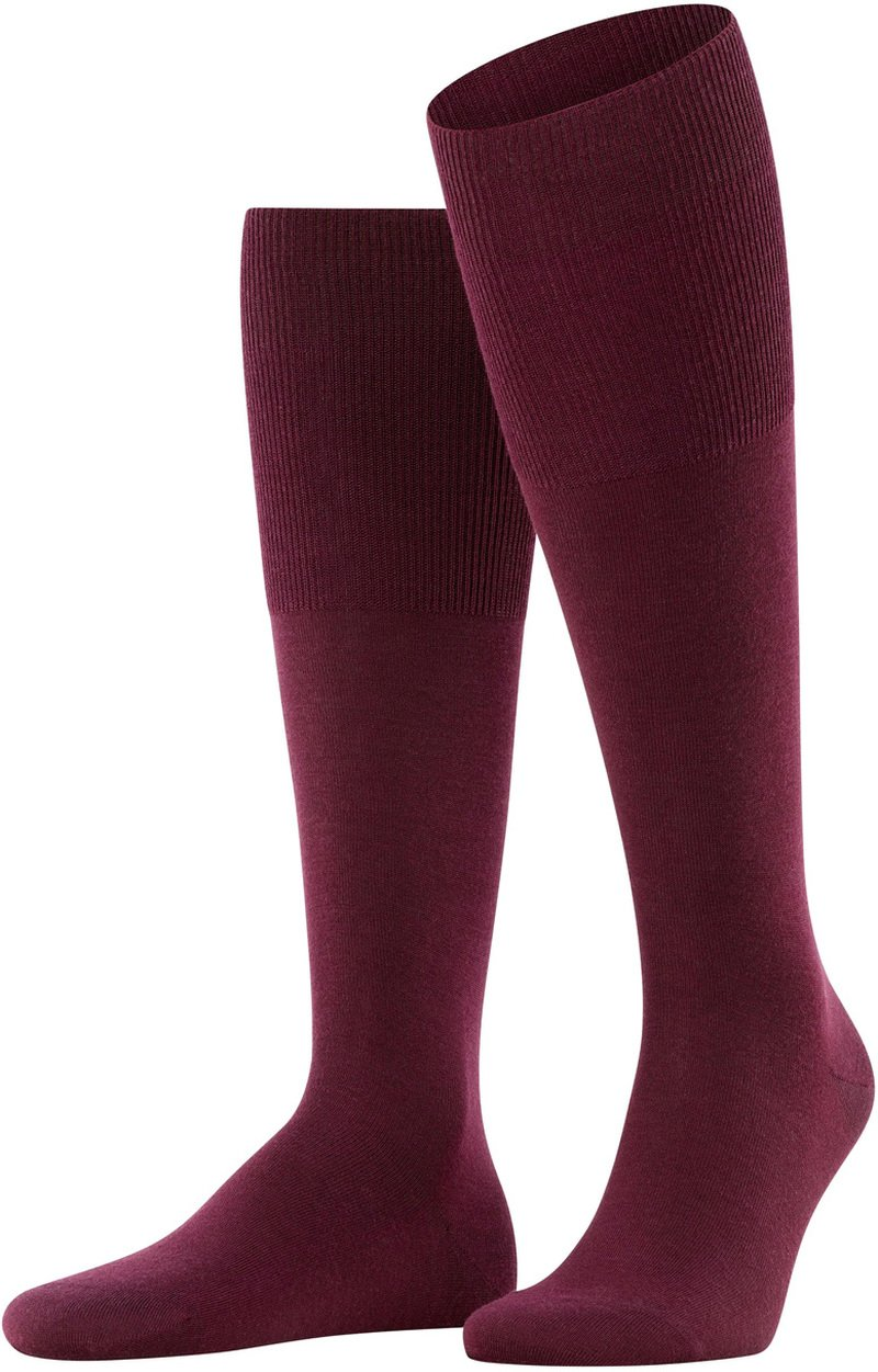 Falke Airport Knee Socks Barolo 8596