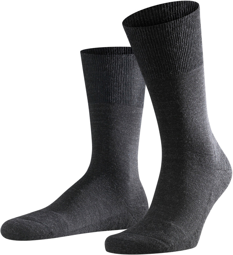 Falke Airport PLUS Socks Asphalt 3080 photo 0