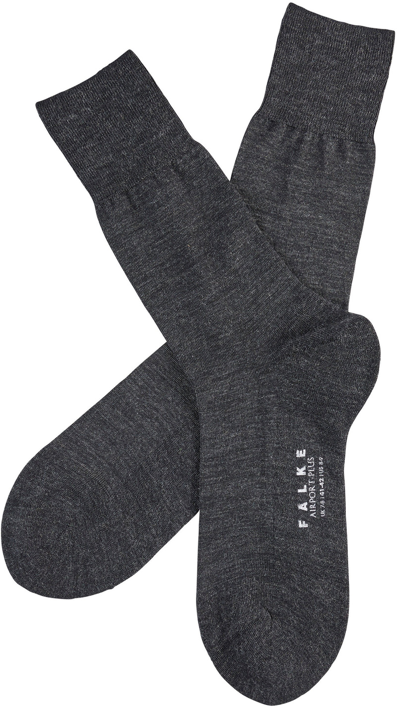 Falke Airport PLUS Socks Asphalt 3080 photo 1
