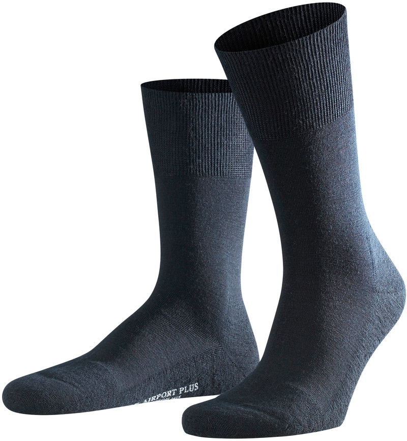 Falke Airport PLUS Socks Navy 6370 photo 0