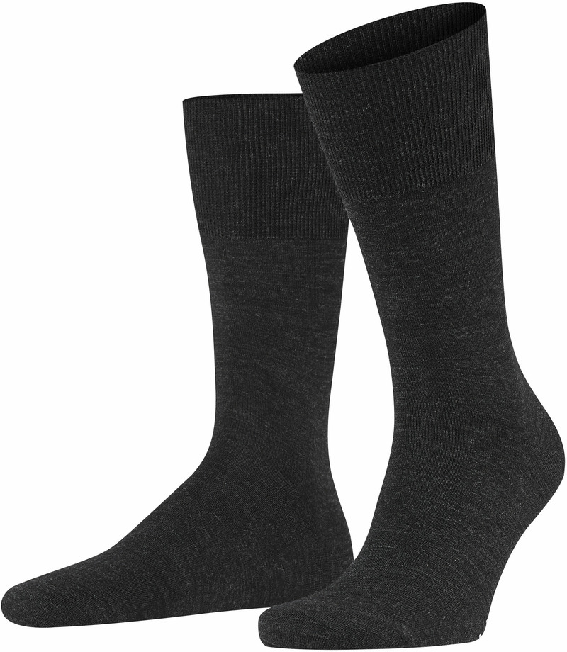 Falke Airport Sock Dark Grey 3080 photo 0