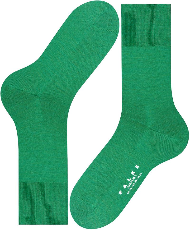 Falke Airport Sock Green Golf 7408