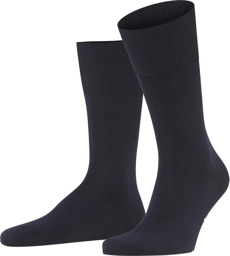 FALKE Airport Socken Navy 6370