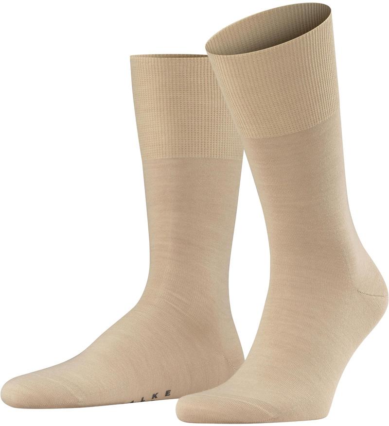 FALKE Airport Socken Sand 4320 Foto 0
