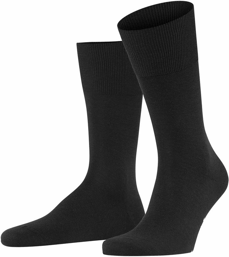 Falke Airport Socks Black 3000