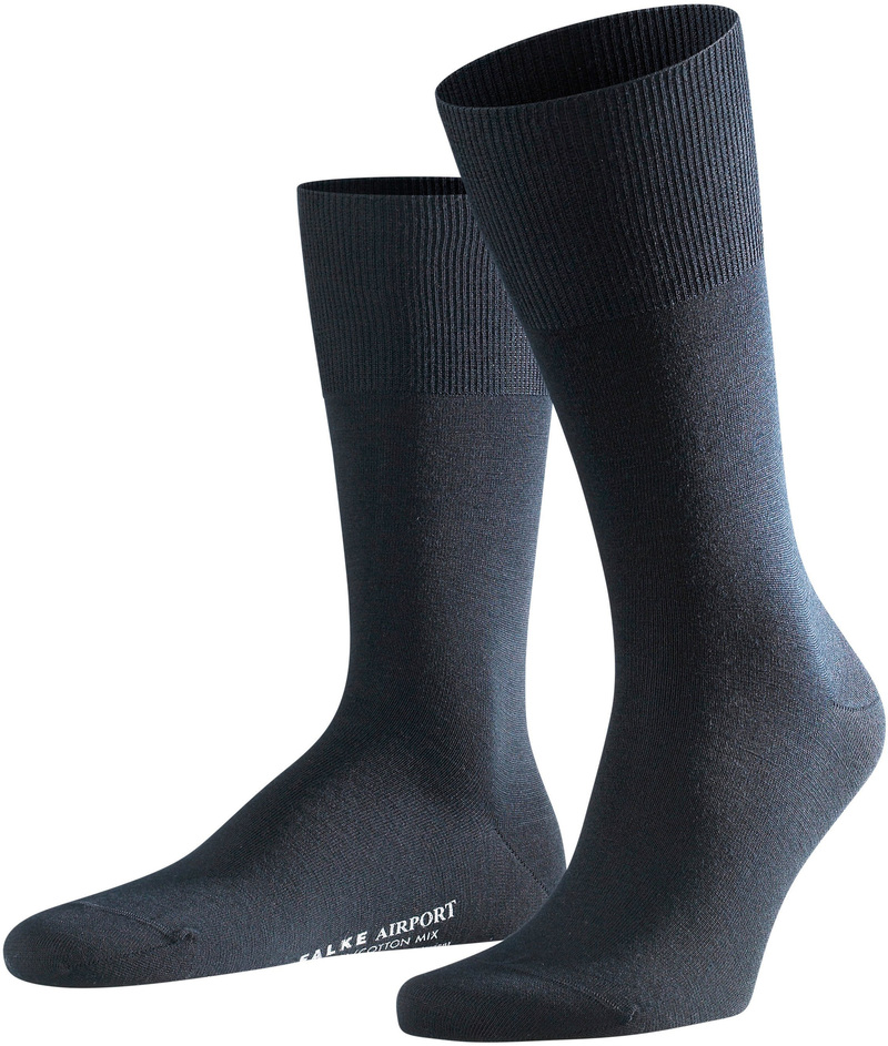 Falke Airport Socks Navy 6370 photo 0