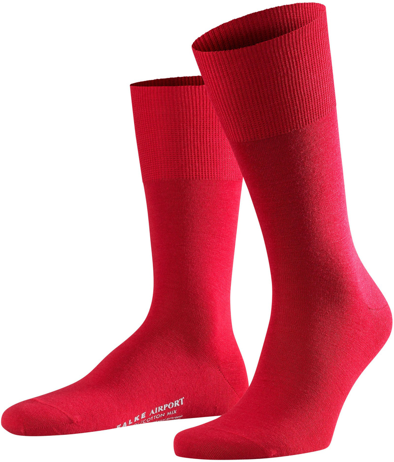 Falke Airport Socks Red 8120 photo 0