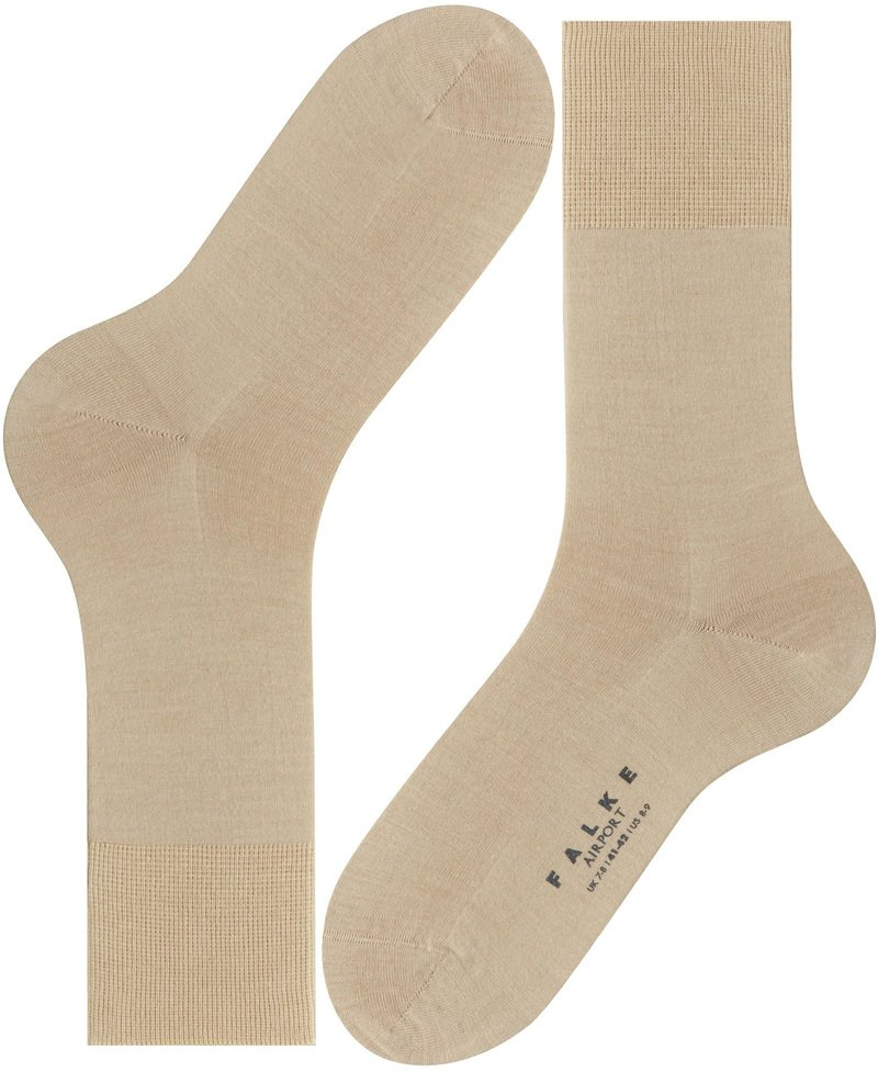 Falke Airport Socks Sand 4320 photo 1