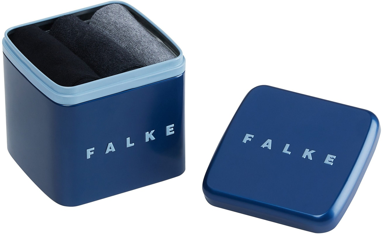 Falke Socks Gift Box 3-Pack Grau & Schwarz Foto 1