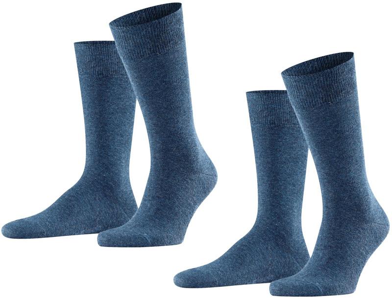 Falke Swing Sokken 2-Pack Donkerblauw
