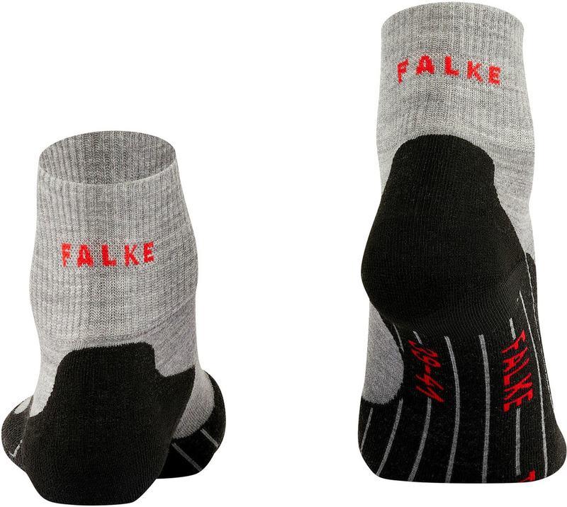 Falke TK5 Wandelsok Short Grijs