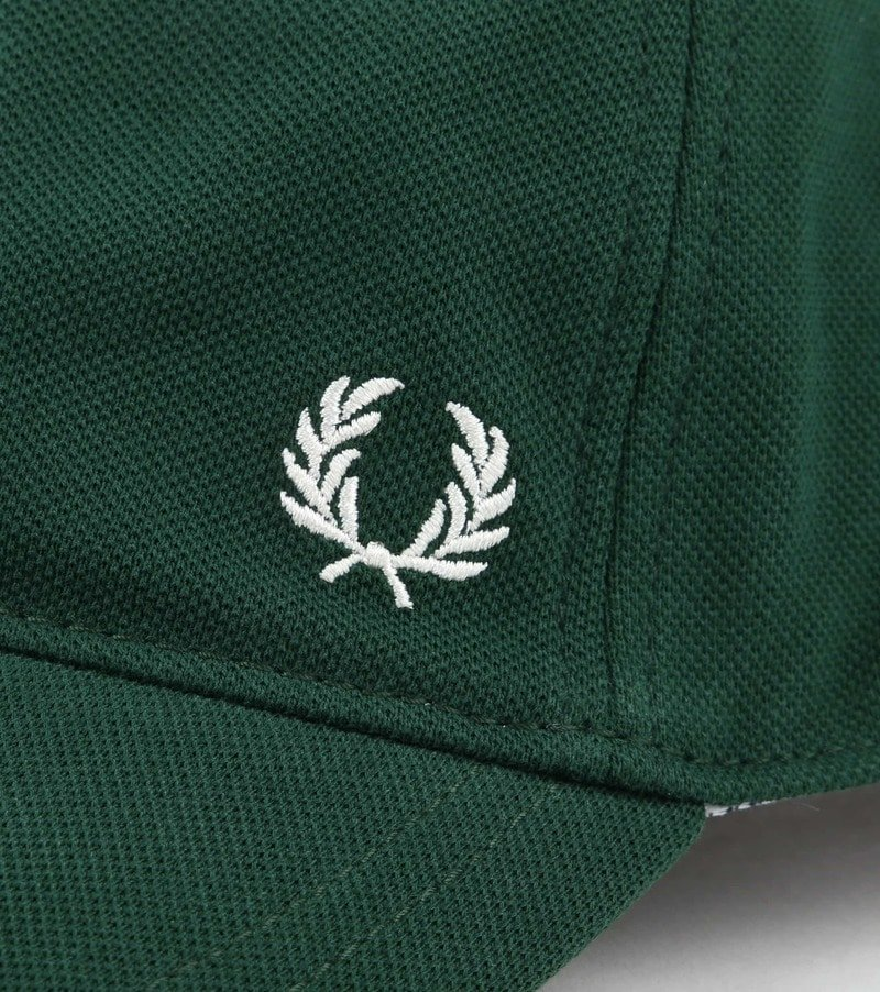 Fred Perry A27 Cap Donkergroen foto 1