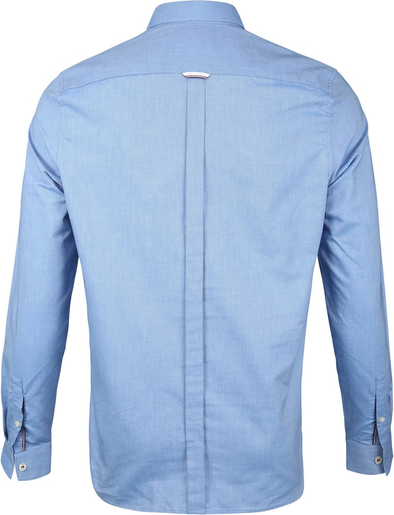 Fred Perry Classic Overhemd Blauw foto 4