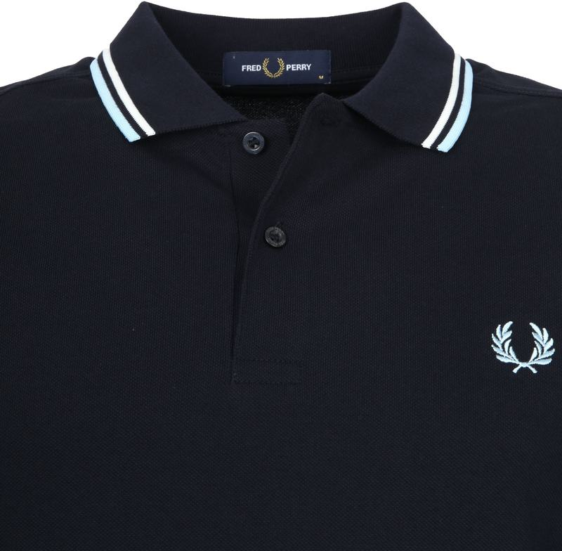Fred Perry LS Polo Navy foto 1