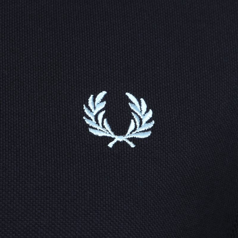 Fred Perry LS Polo Navy foto 2