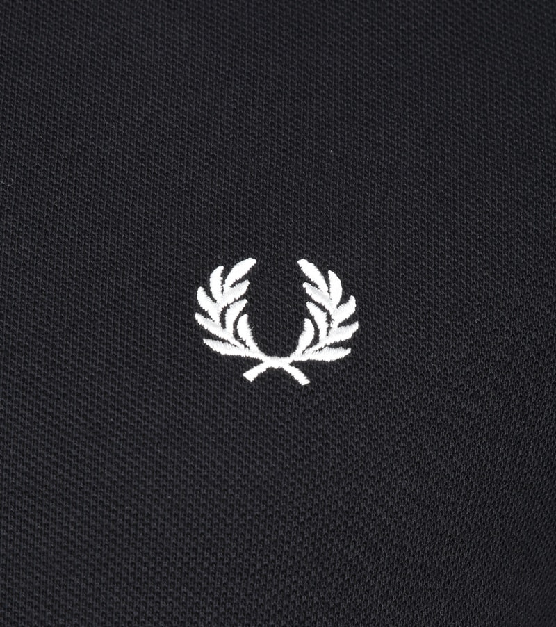 Fred Perry LS Polo Zwart 102 foto 2