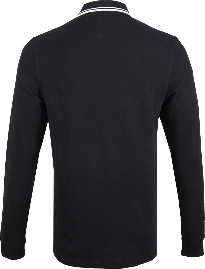Fred Perry LS Polo Zwart 102 foto 3