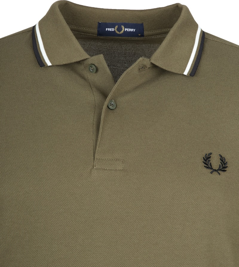 Fred Perry Polo Army K93 foto 1