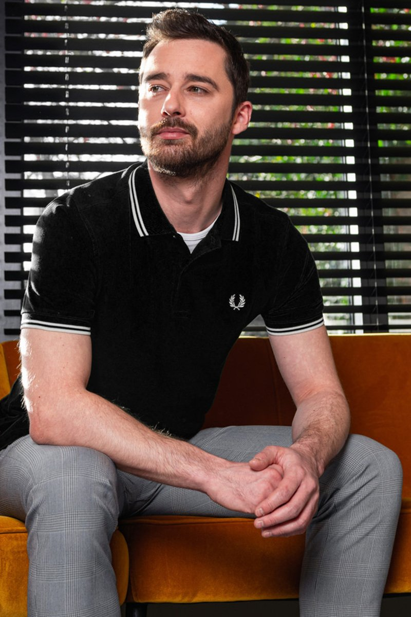 Fred Perry Polo Black 524 photo 3