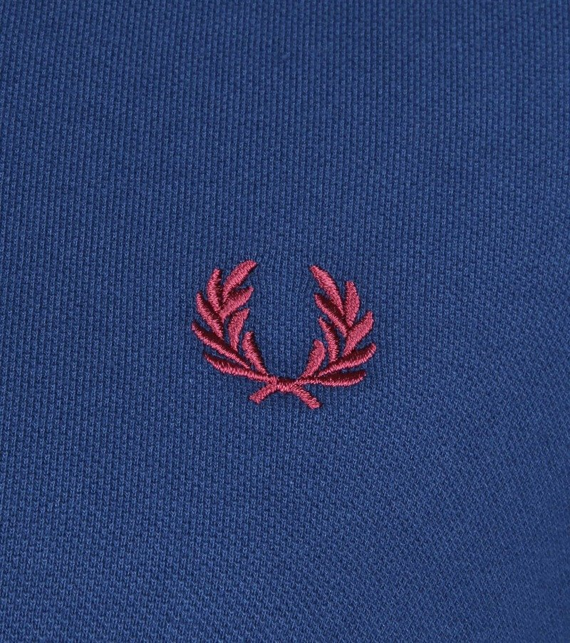 Fred Perry Polo Blauw 588 foto 2