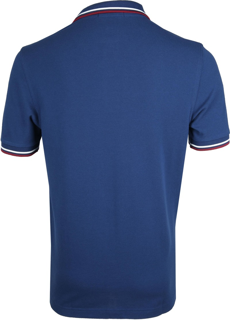 Fred Perry Polo Blauw 588 foto 3