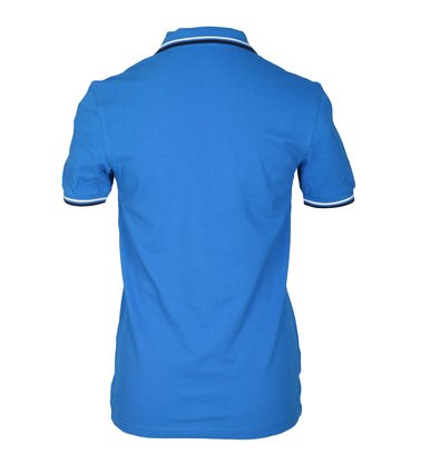 Detail Fred Perry Polo Blauw E43
