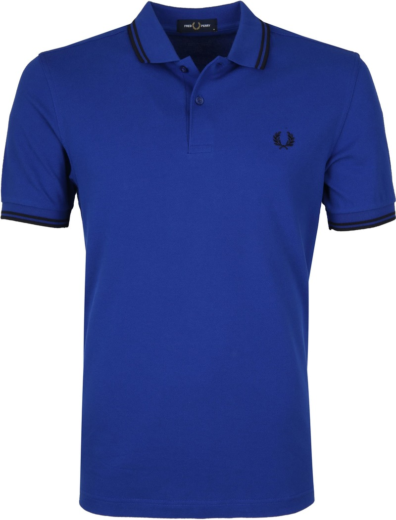 Fred Perry Polo Blauw L44 foto 0