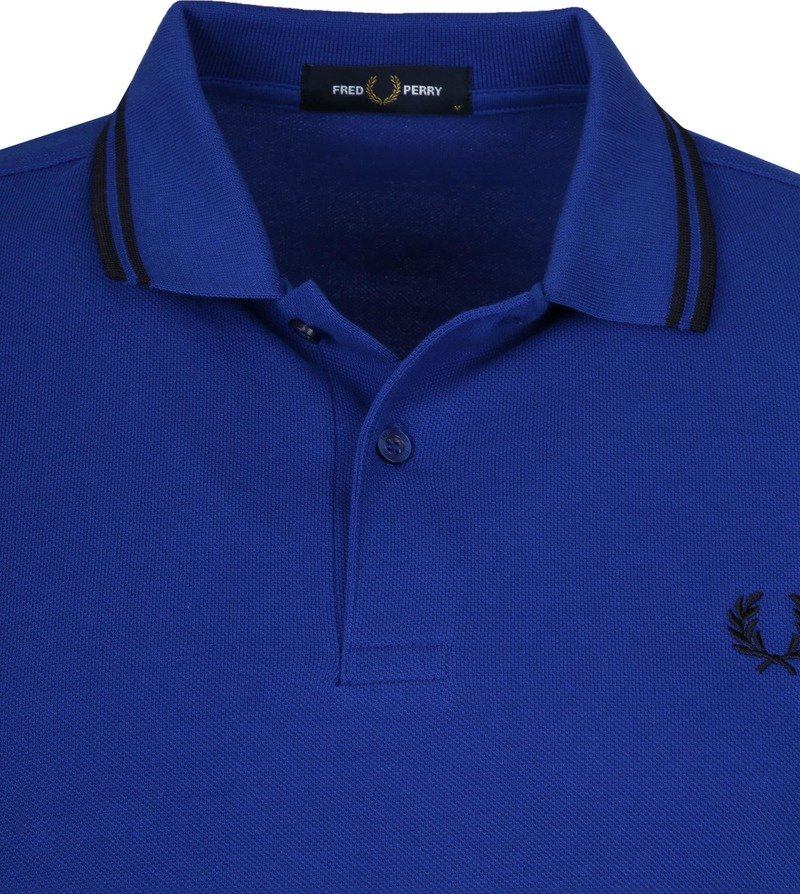 Fred Perry Polo Blauw L44 foto 1