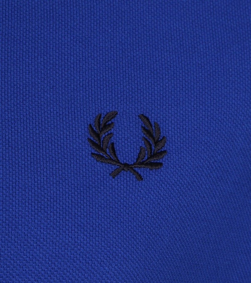 Fred Perry Polo Blauw L44 foto 2