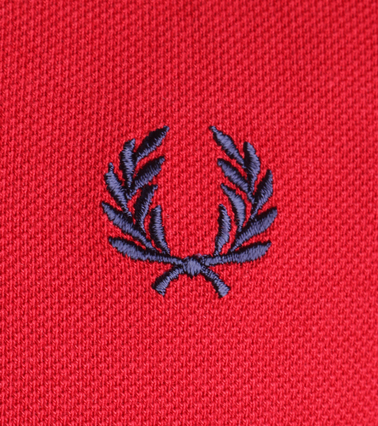 Detail Fred Perry Polo Blood 394