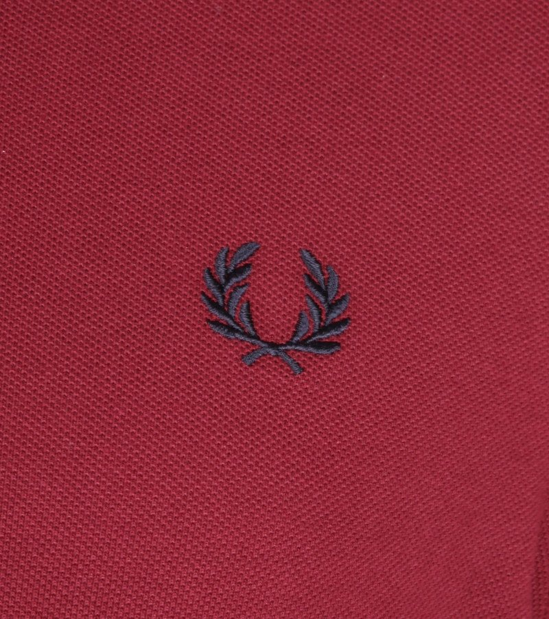 Fred Perry Polo Bordeaux K88 foto 2