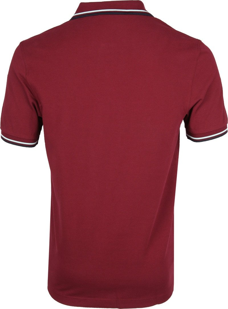 Fred Perry Polo Bordeaux K88 foto 3