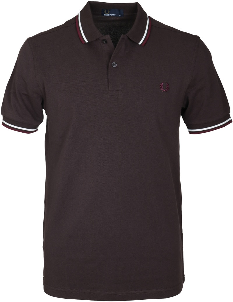 Fred Perry Polo Bruin F65  online bestellen | Suitable