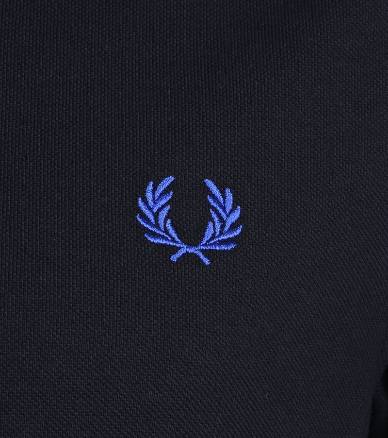 Fred Perry Polo Donkerblauw K89 foto 2