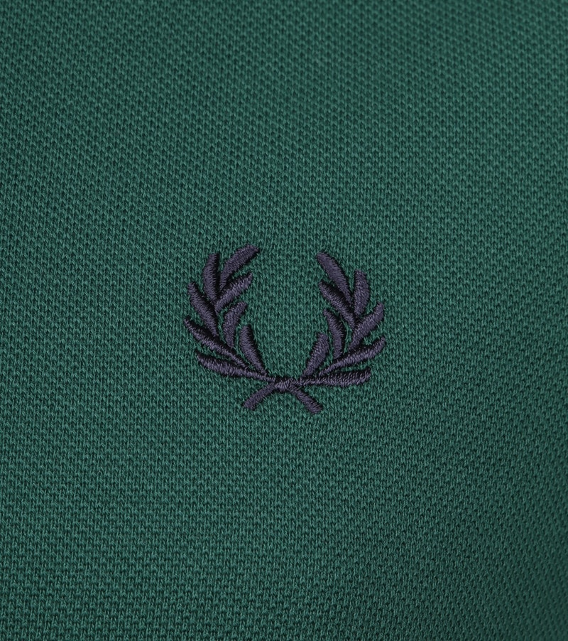 Fred Perry Polo Donkergroen foto 2