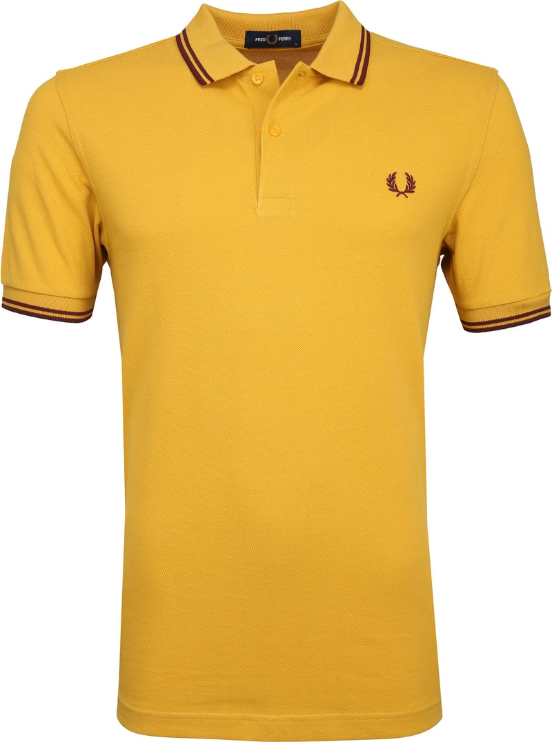 Fred Perry Polo Geel foto 0