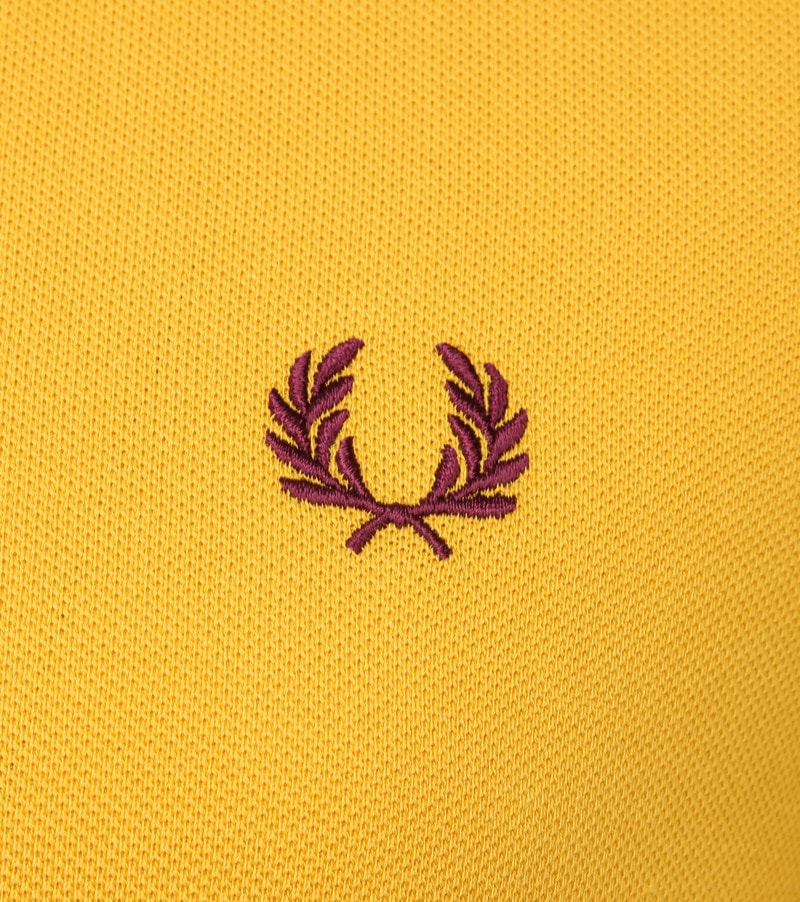 Fred Perry Polo Geel foto 2