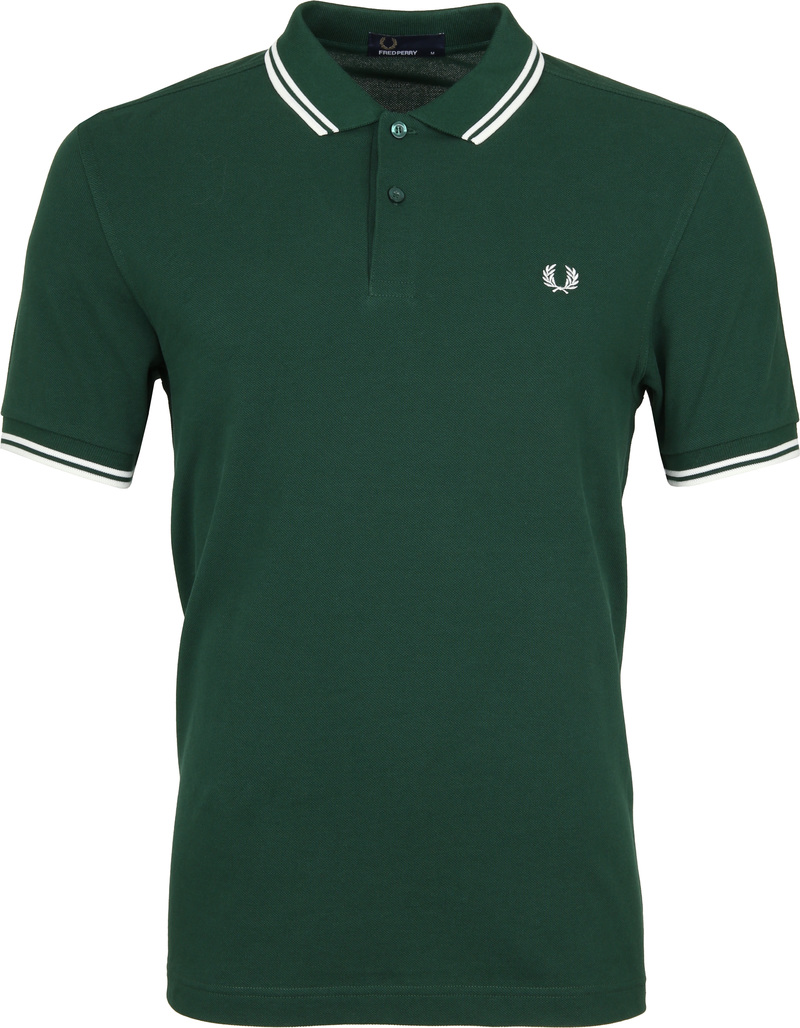 Fred Perry Polo Green 406 photo 0