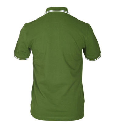 Detail Fred Perry Polo Groen 293