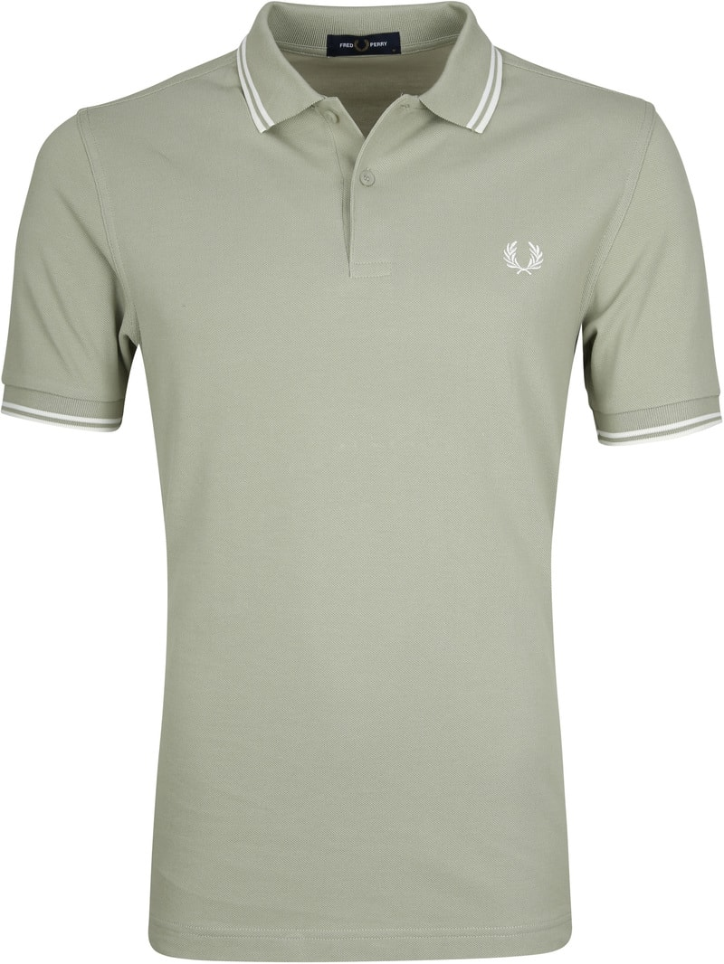 Fred Perry Polo Groen J84 foto 0