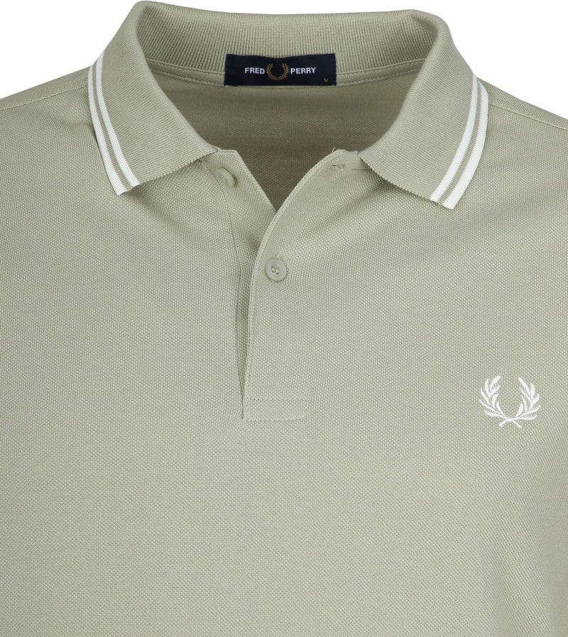 Fred Perry Polo Groen J84 foto 1