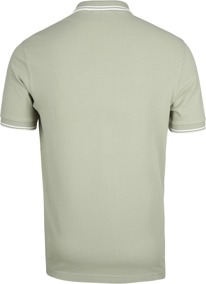 Fred Perry Polo Groen J84 foto 3
