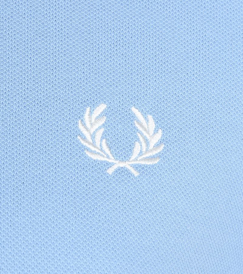 Fred Perry Polo Lichtblauw L15 foto 2