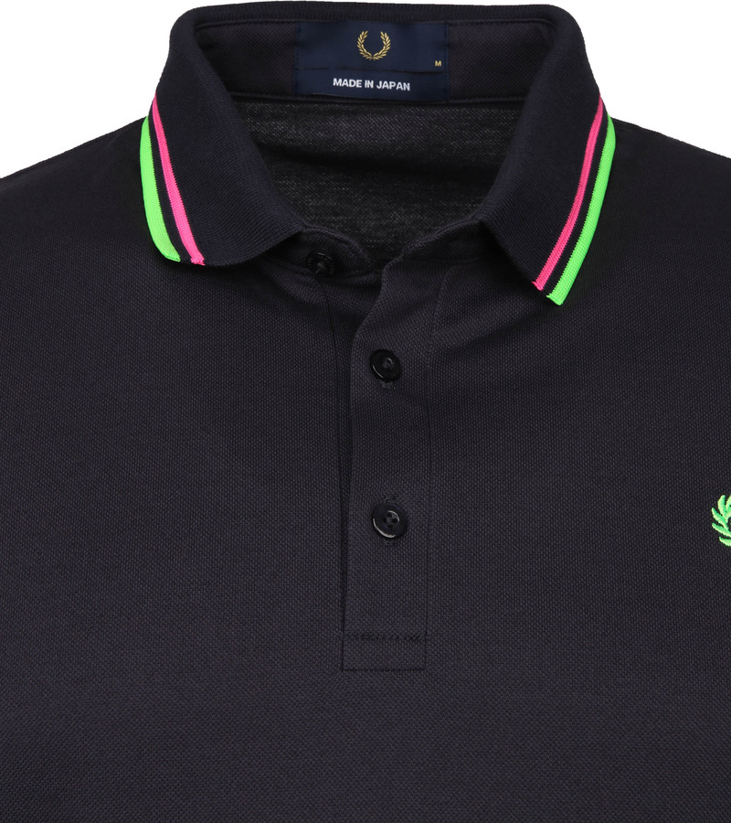 Fred Perry Polo M102 Donkerblauw foto 1
