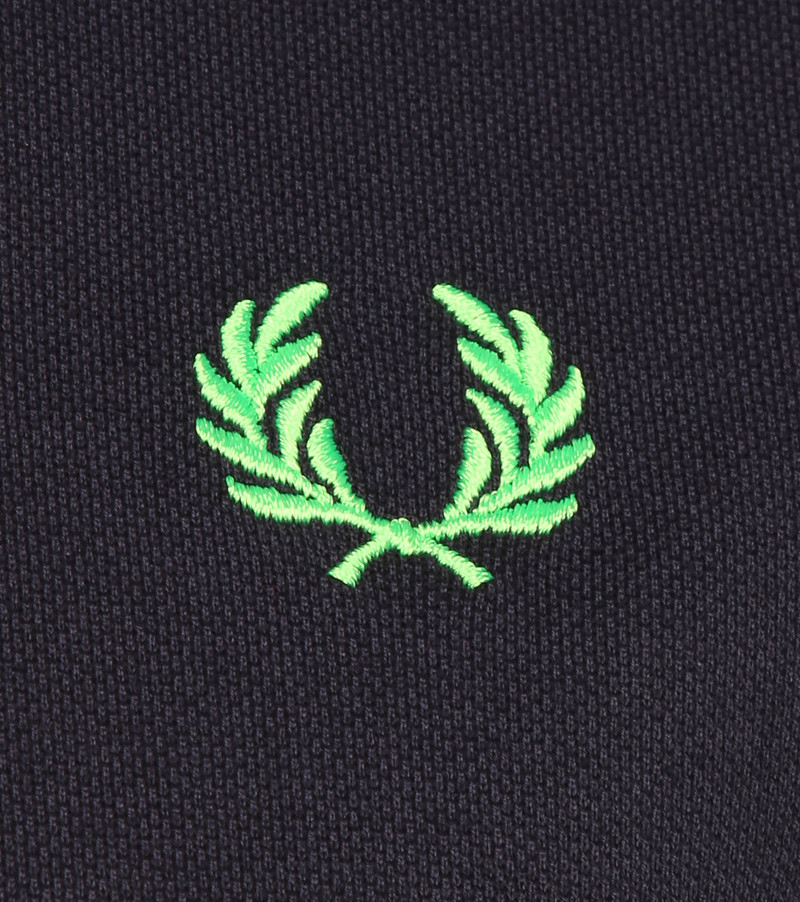 Fred Perry Polo M102 Donkerblauw foto 2