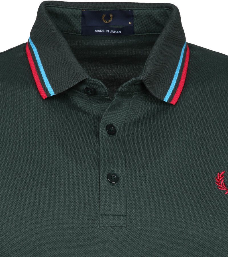 Fred Perry Polo M102 Donkergroen
