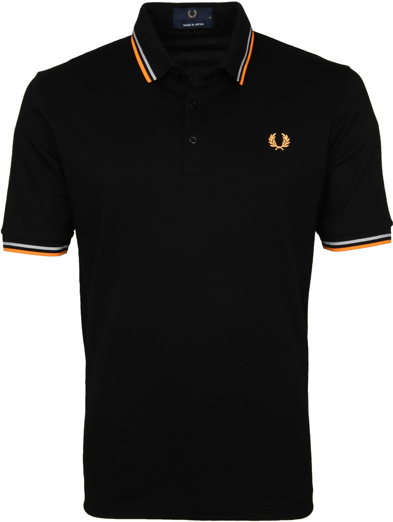 Fred Perry Polo M102 Zwart foto 0