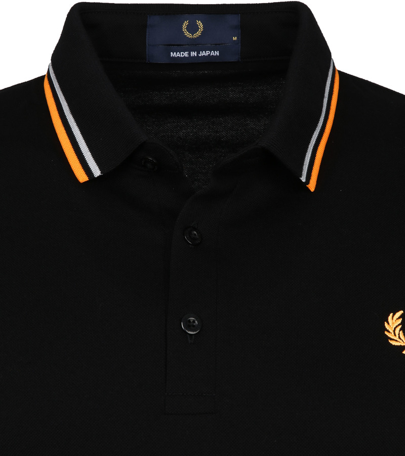 Fred Perry Polo M102 Zwart foto 1